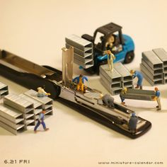 miniature photography Stapler