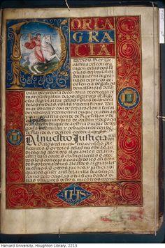 Philip II. Sentencias y carta executoria de hidalguía apedimento da Alonso de Angulo, vezino de la villa de Atienca: manuscript, 1577. MS Typ 515 Houghton Library, Harvard University