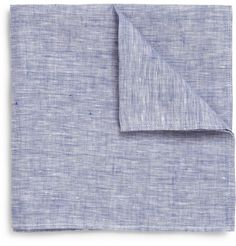 Linen Chambray Pocket Square