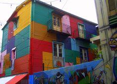 La Boca. Buenos Aires, Argentina.