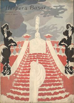 Harper's Bazar (Harper's Bazaar) 1917 December  (Magazine), Erte (de Tirtoff, Romain),Louis Comfort Tiffany,  et al.