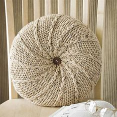 Ravelry: Pick-Up Pillow pattern by Bendy Carter