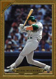 RARE 1997 TOPPS GALLERY MARK MCGWIRE OAKLAND ATHLETICS MINT