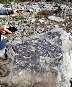 Meadow Lake Petroglyphs in Nevada County, California