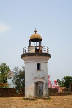 Thalassery Fort Lighthouse, Kerala State, South India