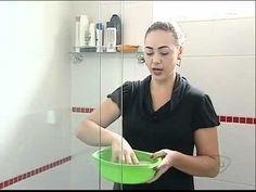 Limpar manchas do box de vidro do banheiro
