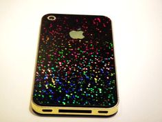 Glitter Ombre iPhone 4/4S/5 Case For Fashion Girls
