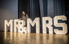Here are our brand new MR & MRS letters! Ready for hire to join you on your special day! Just get in touch to find out more or head over to our website! Light Up Love Sign, Large Light Up Letters, Love Letters, Love And Light, How Beautiful, Beautiful Babies, Special Day, Special Events, Wedding Hire