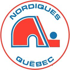 Throughout the history of the hockey there have been iconic jerseys and logos like the Detroit Red Wings' winged wheel that are still around today, but many wish that logos like the defunct Quebec Nordiques' and Hartford Whalers' could be resurrected. Hot Hockey Players, Nhl Players, Hockey Puck, Hockey Games, Ice Hockey, Hockey Logos, Nhl Logos, Sports Team Logos, Sports Teams