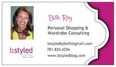 Business cards for my style guru...
