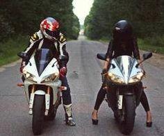 Moto shoot with heels