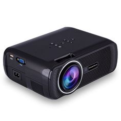 WhaleStone WS80 Portable LED Home Theater 1200 Lumens Pico Mini Projector