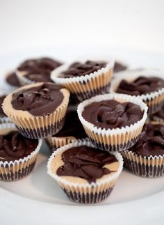 Homemade Cacao-Peanut Butter Cups