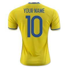 6aded609e 2018 FIFA World Cup Sweden Any Name Number Home Soccer Jersey New Football  Shirts