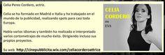 Celia Cordero en Mar Muerto