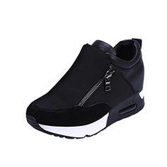 hot sale online e2843 53ca0 Women Sneakers Sports Running Hiking Thick Bottom Platform Shoes by  TOPUNDER Damenschuhe Übergröße, Wasserdichte Schuhe