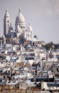 Paris - Sacre Coeur I spent a very spiritual couple of hours there.  If I could plan my ideal trip, it would be a tour of Europe's cathedrals.  I am not Catholic, but I am awe-struck and profoundly comforted in these places.