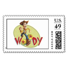 Shop Woody Disney Postage created by ToyStory.