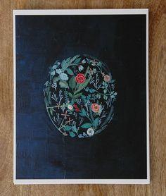 impresión de flora por britthermann en Etsy, $23.00
