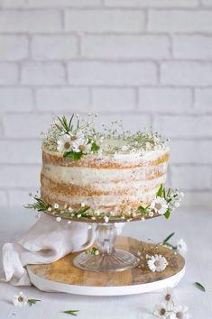 Pretty dainty summer festival cake