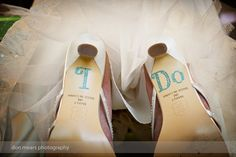 "A blue ""I do!"". Shot by Don Mears Photography (Richmond, VA)."