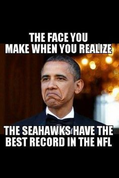 Seattle Seahawks best record on the NFL!!!