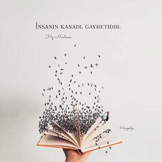 💫Takdir-i ezele teslimiz ama gayrete de aşığız..• Cahit Zarifoğlu •... True Words, Beautiful Words, Beautiful Pictures, William Shakespeare, Motto, Islamic Quotes, Allah, Cool Words, Shit Happens