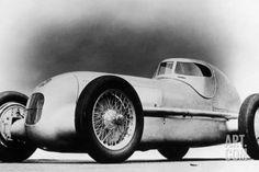 Mercedes-Benz W25 Streamliner Car, 1934 Photographic Print at Art.com