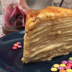 Great Desserts, Dessert Recipes, Peach Puff Pastry, Crepe Cake, Crepe Recipes, Cheesy Recipes, Best Dinner Recipes, No Cook Meals, Yummy Cakes