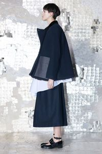 Oversize and menswear inspired at Acne pre fall 2013