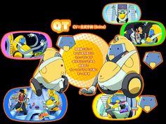 QT(CV:佐武宇綺(9nine)) 掃除機ロボット 本人は高性能だとうたっているが実はポンコツである 真面目でちょっとプライドが高い キレイ好き