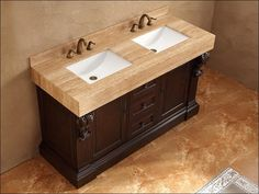 Solid Wood Bathroom Vanities Canada Bathroom Pinterest Wood - Bathroom vanities san diego showroom