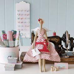 Mimin Dolls: Tilda Costureira - 2 -moldes-