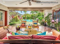 Megan's team manages over 25 luxury vacation homes on the Southern and Eastern Shores of Oahu, featuring properties in Kaka'ako, Waikiki, Diamond Head, Kahala, Hawaii Kai and Kailua. Makani'olu villa is a stunning 4 BR 3 BA private beach side retreat.