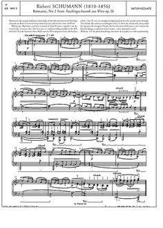 Romanze, No. 2 from Faschingsschwant aus Wien Op. 26 >>> KLICK auf die Noten um Reinzuhören <<<