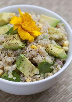 Quinoa, Avocado, and Corn Salad