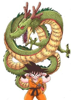 Goku and Shenlong