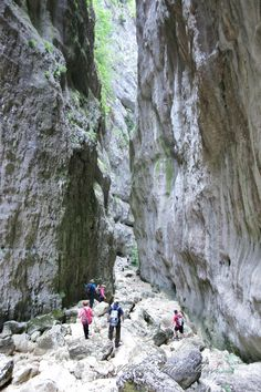 Live the experience!  RETREAT ACTIVITY: Excursion through Celano's Natural Canyon. Celano(AQ) - Abruzzo, Italy. (Photo by Vittorio Maccallini) http://www.theheartofabruzzo.it/index.php/our-retreats/activities/item/13-excursions