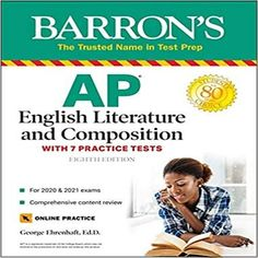 AP English Literature and Composition: With 7 Practice Tests ( Barron's Test Prep ) (8TH ed.)