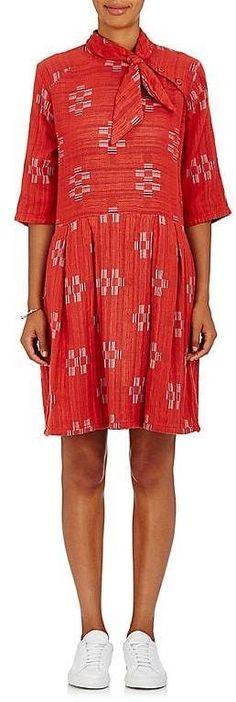 Ace & Jig Women's Roxie Cotton Gauze Dress #affiliatelink red, white, dress