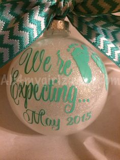 Hey, I found this really awesome Etsy listing at https://www.etsy.com/listing/210103209/custom-glitter-ornament-christmas-were