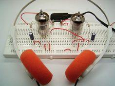 Radios, Diy Headphones, Valve Amplifier, Nixie Tube, Electronic Schematics, Headphone Amp, Vacuum Tube, Diy Electronics, Arduino