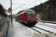 Tharandt - S3 nach Dresden Hbf und RE3 nach Hof Hbf - 143 919 + 143 828