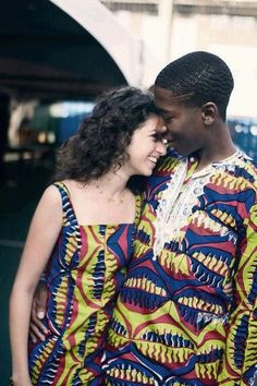 Cute nigerian couple