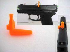 Rail de montage picatinny fab gis pour glock categorieb for Temoin de chambre vide glock