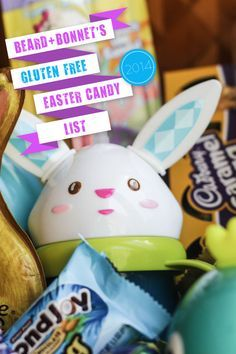 How to make a gluten free easter basket easter gift baskets beard bonnets gluten free easter candy list negle Image collections