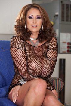 A Magnificent Mom Sexy In Her Fishnet Top Pattie  C B Milf