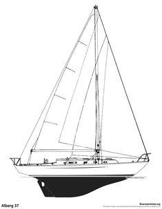 The Alberg 37 Sailboat