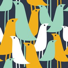 Mod Birds by london_dewey, click to purchase fabric