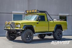 """1968 Jeep Gladiator with 18"""" Hostile Wheels by Wheel Specialists, Inc. in Tempe AZ . Click to view more photos and mod info."""